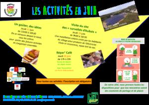 affiche activités ELT 2020 juin